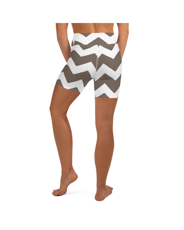 All-Over Print Yoga Shorts