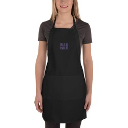 Embroidered Apron   Liberty Bags 5502